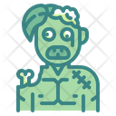 Zombie Ghoul Horror Icon