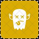 Zombie Halloween Jester Icon