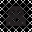 Zombie Creepy Ghost Icon