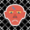 Zombie Mummy Ghost Icon