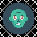Zombie Scary Creepy Icon
