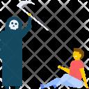 Zombie Axe Prank Icon
