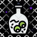 Zombie Bottle Scary Jar Horror Jar Icon