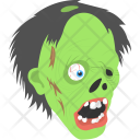 Zombie Face Icon