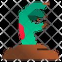 Zombie Hand Ground Icon