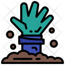 Hand Dead Scary Icon