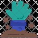 Zombie Hand Dead Icon