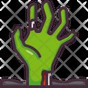 Hand Horror Scary Icon