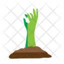 Hallowwen Ghost Hand Icon