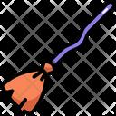 Broomstick Broom Halloween Icon