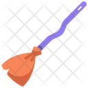 Broomstick Halloween Horror Icon