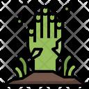 Zombie Horror Scary Icon