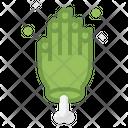 Hand Spooky Terror Icon