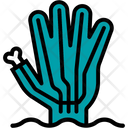Zombie Hand Monster Icon