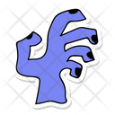 Zombie Hand Ghost Hand Hand Icon