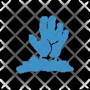 Zombie Hand Livingdead Icon