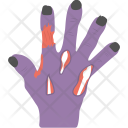 Zombie Hand Halloween Icon