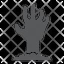 Zombie Hand Undead Icon