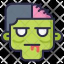 Zombie Head Undead Icon
