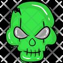 Zombie Skull Icon