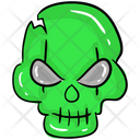 Zombie Skull Human Skull Skull Anatomy Icon