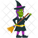 Zombie Witch Icon