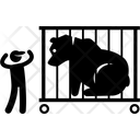 Zoo Bear Cage Icon