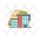 Zoo Zoo Building Zoo House Icon