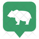 Bear Animal Map Icon