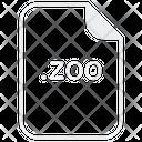 Zoo File Document Icon