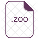 Zoo File Document Icon
