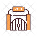 Zoo Gate Gate Zoo Icon