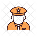 Zoo Keeper Guard Security Guard Icon
