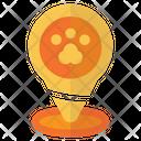 Pin Location Zoo Icon