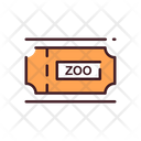 Zoo Tickets Tickets Entry Tickets Icon
