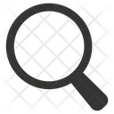 Detective Magnifying Glass Zoom Icon