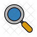 Zoom Research Magnifier Icon