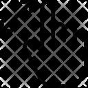 Zoom Gesture Icon