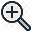 Zoom In Tool Web Icon