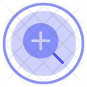 Zoom In Zoom Web Icon
