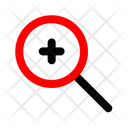 Magnifier In Zoom Icon