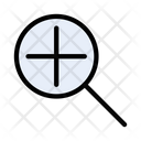 Magnifier Zoom Glass Icon
