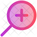 Magnify Glass Search Find Icon