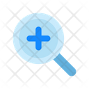 In Magnifier Search Icon