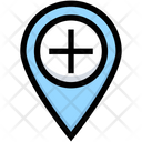 Zoom In Location Add Icon