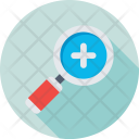Zoom Magnifying Glass Icon
