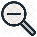 Zoom Out Tool Web Icon