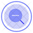 Zoom Out Zoom Web Icon