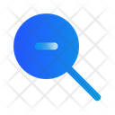 Magnifier Out Zoom Icon
