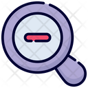 Zoom Out Out Zoom Icon